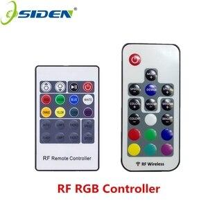 Беспроводной пульт дистанционного управления OSIDEN RF, Светодиодная лента rgb с диммером для RGBSMD5630 SMD5050 SMD3528 17key 20key 5-24 В
