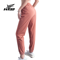 HTLD Loose Quick Dry Cargo Pants Women Fitness wide leg Antistatic Harem Pants Workout Frivolous Trousers Joggers Pantalon femme