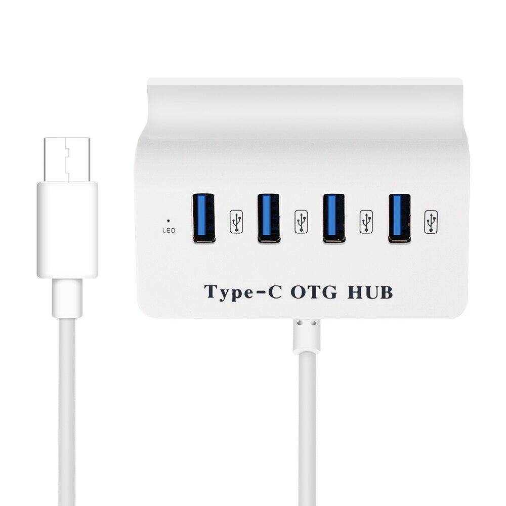 <font><b>USB</b></font> hub <font><b>Super</b></font> Speed <font><b>4</b></font> <font><b>Ports</b></font> Type C Hubs with <font><b>Power</b></font> <font><b>Supply</b></font> Interface Type-c <font><b>USB</b></font> Splitter for Macbook Laptop PC <font><b>USB</b></font>-C Hubs