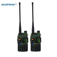 vhf uhf מכשיר הקשר Baofeng UV-5R 2pcs / הרבה שני הדרך רדיו Baofeng uv5r 128CH 5W VHF UHF 136-174Mhz & 400-520Mhz (2)