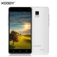 X12 XGODY 5.0 Cal Smartfon Android 5.1 Quad Core 2 + 16 GB ROM 5.0 + 8.0 MP 3G Podwójna Karta Sim Unlock 1280*720 Telefon komórkowy WiFi GPS