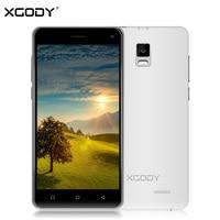 XGODY X12 5.0 Inch Smartphone אנדרואיד 5.1 Quad Core 2 + 16 GB ROM 5.0 + 8.0 MP הכפול כרטיס ה-sim נעילה 3 גרם 1280*720 GPS WiFi טלפון נייד