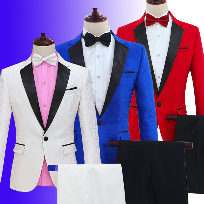 Kleidung Sänger Erwachsene Anzug Hochwertige Chorus Neue