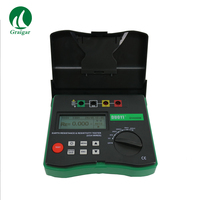 DY4300B 4 Pole Earth Resistance Ground Soil Resistivity Tester Measuring Range 0 to 209.9