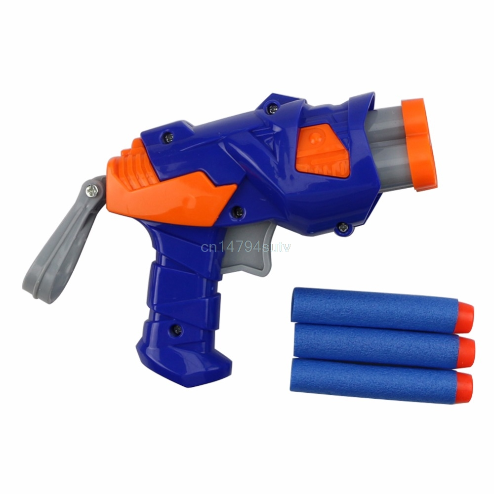 Novelty Children Toy Dart Gun Blaster Soft Bullet Game With Refill Darts Sniper #H055#