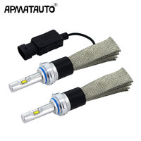 2X High quality 6000K H4 LED H7 H11 H8 H9 HB4 HB3 9005 9006 9012 Car Headlight Bulbs 96000LM Car Styling Led Auto Lamp