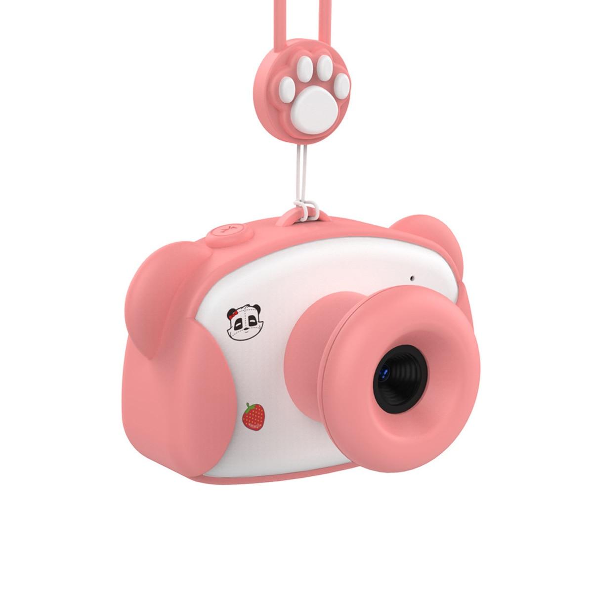 8.0MP 1.5 pouces HD écran enfant caméra jouets Mini belle Panda enfants Anti-secousse appareil photo numérique avec des autocollants de bande dessinée enfants cadeaux - 4