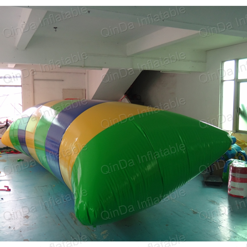 Inflatable jumping blob inflatable water blob inflatable water catpult blob blob blob big yellow