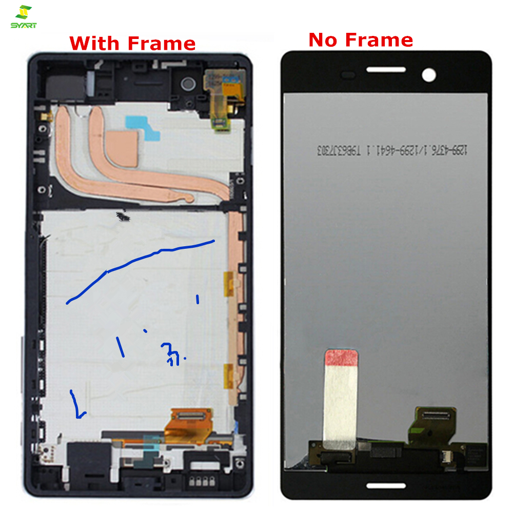 5.0 inch 1280x720 For Sony Xperia X LCD F5121 Touch Lcd Screen Digitizer Assembly with Frame Assembly Replacement Parts Black5.0 inch 1280x720 For Sony Xperia X LCD F5121 Touch Lcd Screen Digitizer Assembly with Frame Assembly Replacement Parts Black