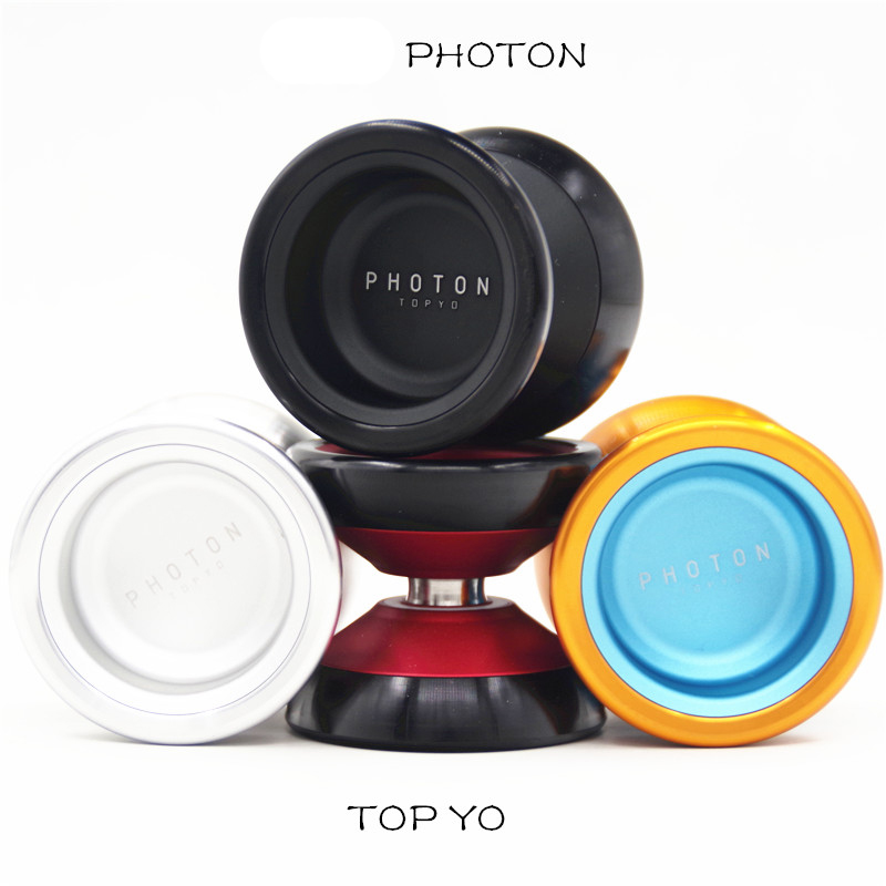 New Colors TOPYO PHOTON YOYO professional yo yo CNC Metal bearing yoyo Metal ball Great gift