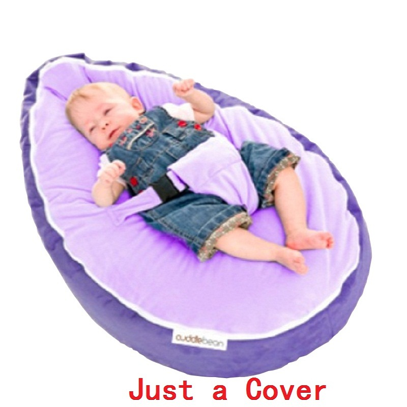 Just a Cover 2018 New Baby Bean Bag in Living Rooms Photography Pouf for Feeding Portable Toddler Safety Seat Sofa harness