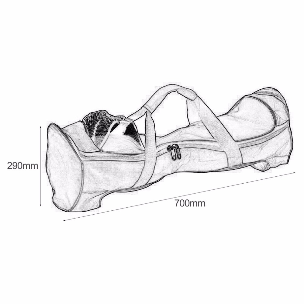 4 5 6 5 8 10 39 39 Scooter Bag Waterproof Handbag Case Cover Shell Carrying Bag Hoverboard Two Wheel Self Balance Electric Scooter in Scooter Parts amp Accessories from Sports amp Entertainment