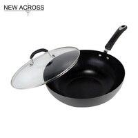 Smokeless Tao Jing Wok Smoke Kitchen Supplies Cooking Pots And Pans Wooden Spatula