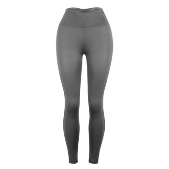 Women Leggings Fitted with Hip-lifting Warm Breathable Thin Pants Solid Pink Red Black Dark Grey Trousers Fitness Legging image