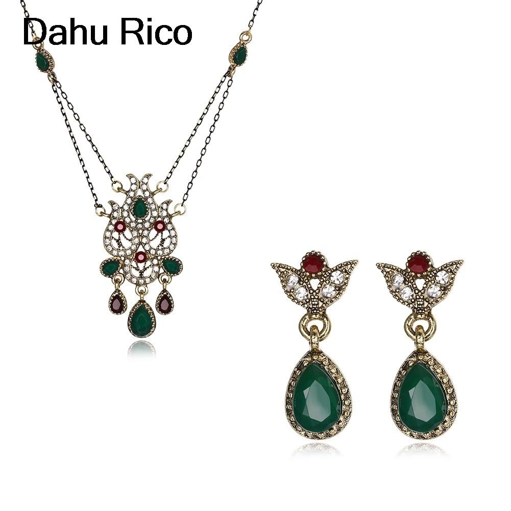 etnico dames cubic zirconia cadeau maitresse rojos green euros little kiss me bulgaria Dahu Rico jewelry sets