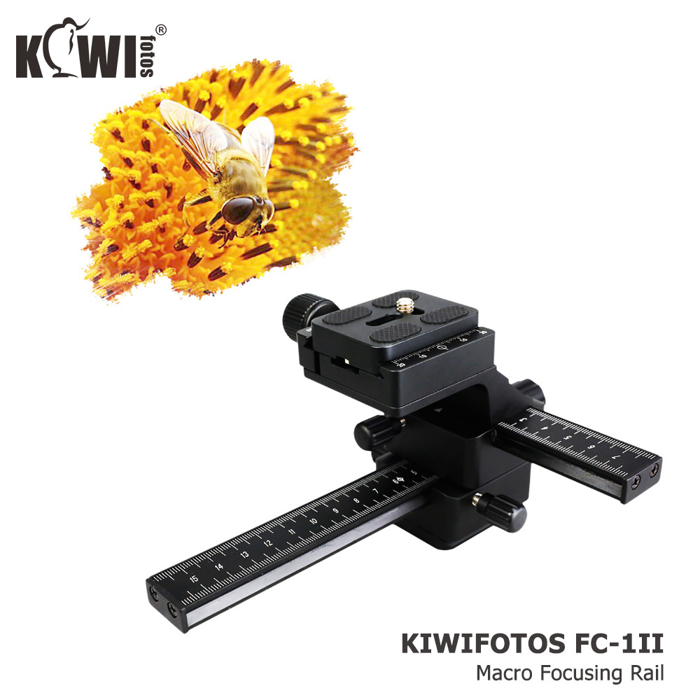 4 Way Macro Focusing Focus Rail Slider /Close-up Shooting for Canon for Nikon SLR Camera Camcorder with Standard 1/4 Screw Hole профессиональная цифровая slr камера nikon d3200 18 55mmvr