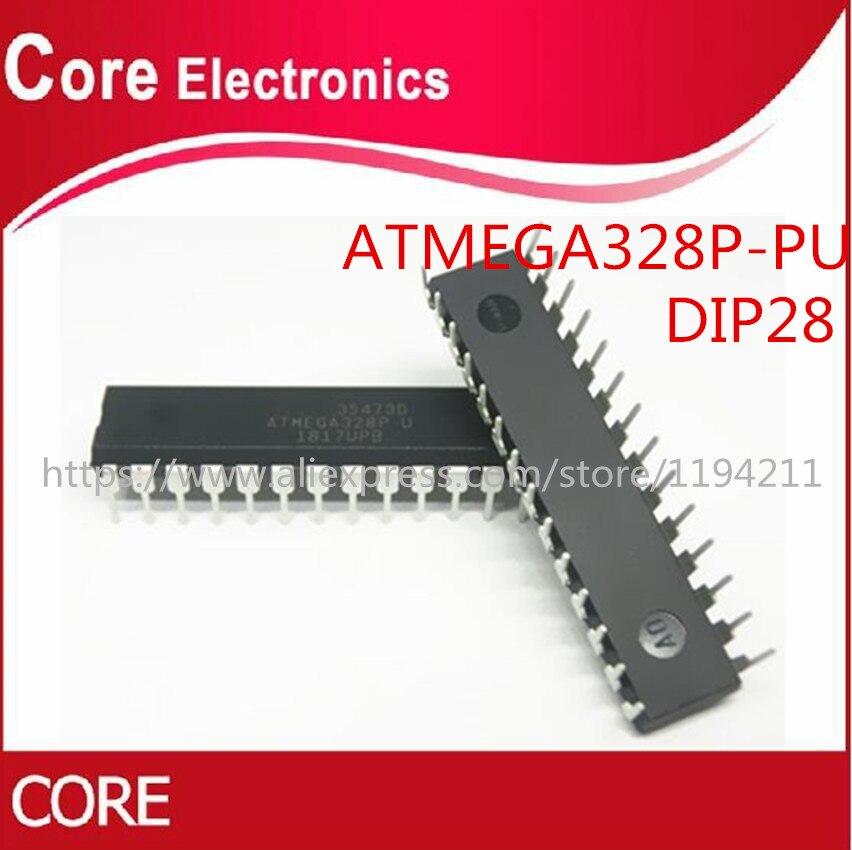 50PCS ATMEGA328P PU ATMEGA328 U ATMEGA328P U DIP28