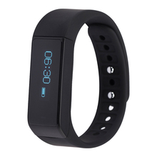 I5 Plus Smart Bracelet Bluetooth 4.0 Waterproof Touch Screen Fitness Tracker Health Wristband Sleep Monitor Smart Band