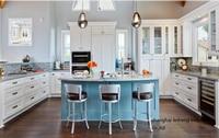 solid wood kitchen cabinet(LH SW093)