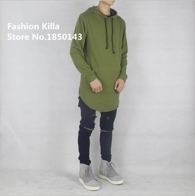 Aliexpress.com : Buy new fashion mens oversized side split Olive ...