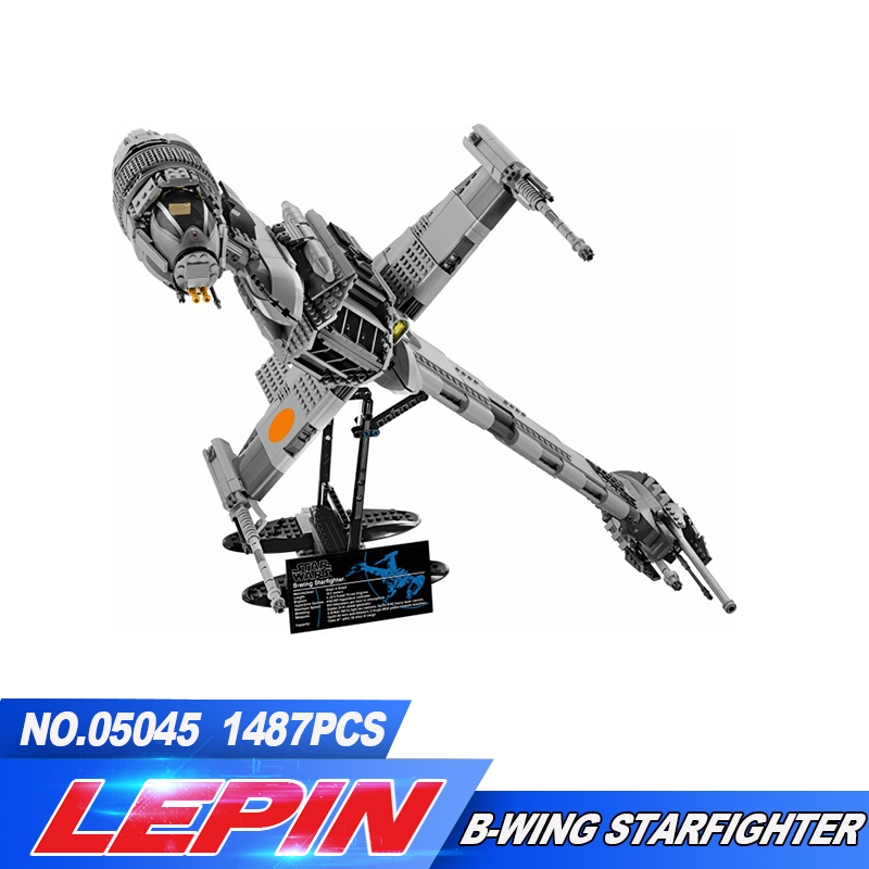 Lepin 05045 New 1487Pcs Genuine Series The B-wing Starfighter Building Blocks Bricks Educational Toys 10227 lepin 05045 new 1487pcs genuine star war series the b wing starfighter building blocks bricks educational toys