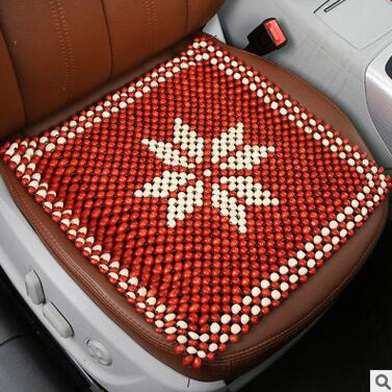 Beaded seat cushion solight solarpuff