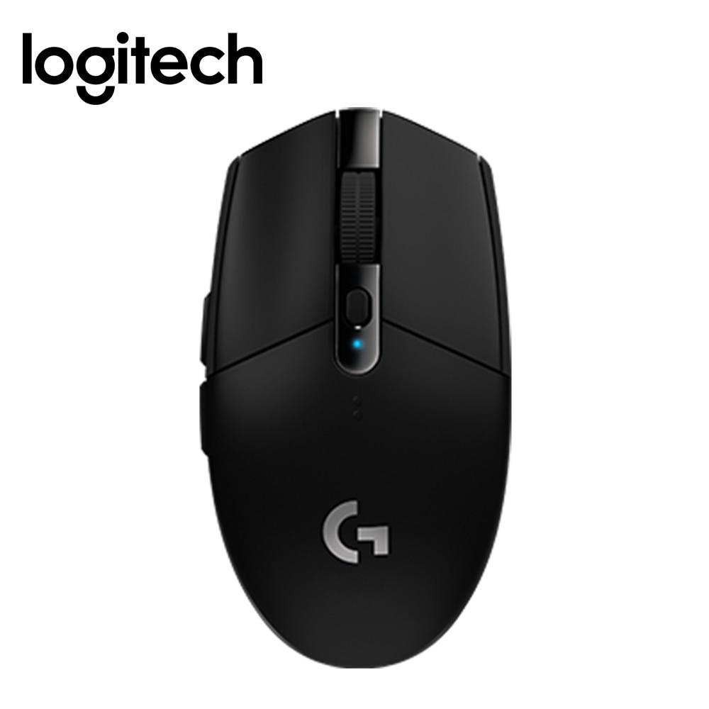 Logitech nouvelle souris G304 LIGHTSPEED souris de jeu sans fil 12,000 DPI CSGO PUBG conçue pour les jeux souris rapidement et facilement souris