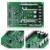 Placa Do Módulo-ponte H Driver de Motor duplo DC MOSFET IRF3205 Peak 30A 3-36 V 10A