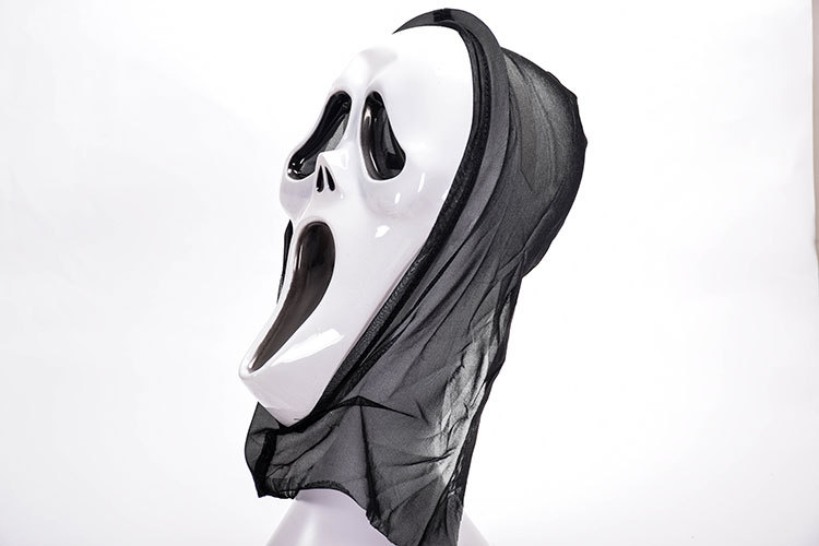 HTB1ZAkraEWF3KVjSZPhq6xclXXaM - Horror Grim Reaper Accessories Pennywise Horror Clown Halloween Cosplay Screaming Costume