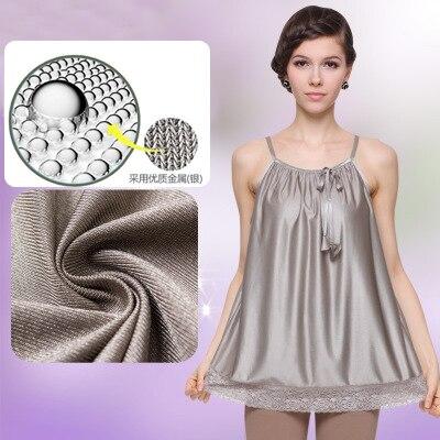 Anti-rayonnement vêtements de maternité rayonnement protection sangle nano argent ion argent fiber de porter costume de rayonnement dans toutes les saisons