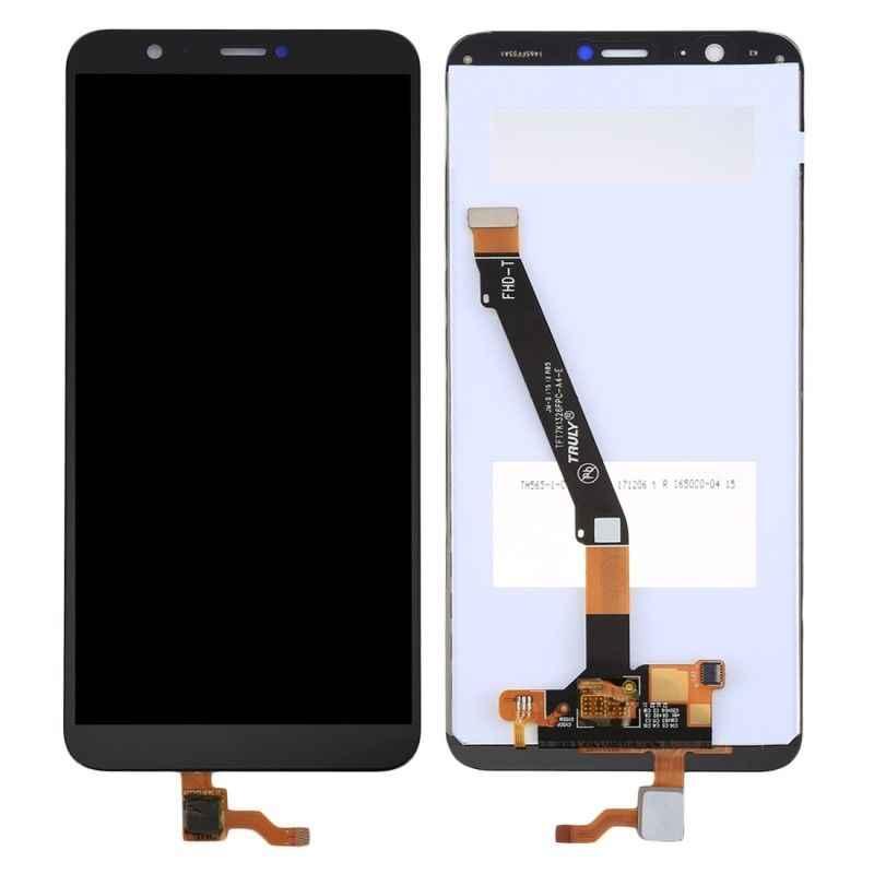 لهواوي P الذكية LCD شاشة تعمل باللمس الإطار الجمعية عرض لهواوي PSmart عرض استبدال LCD التين LX1 L21 L22 5.65 بوصة