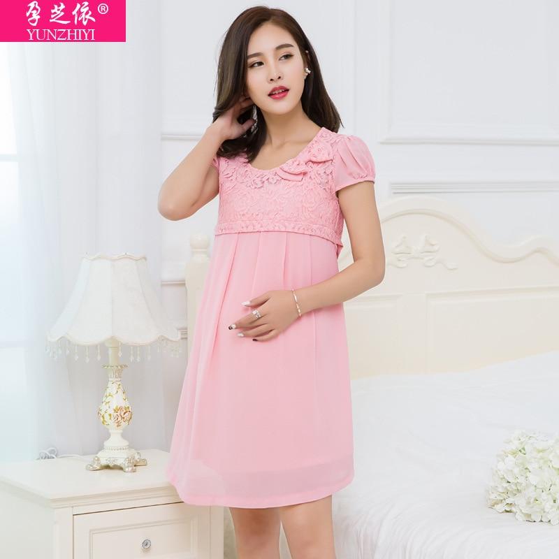 Dorable Vestido De Dama De La Lactancia Materna Embellecimiento ...