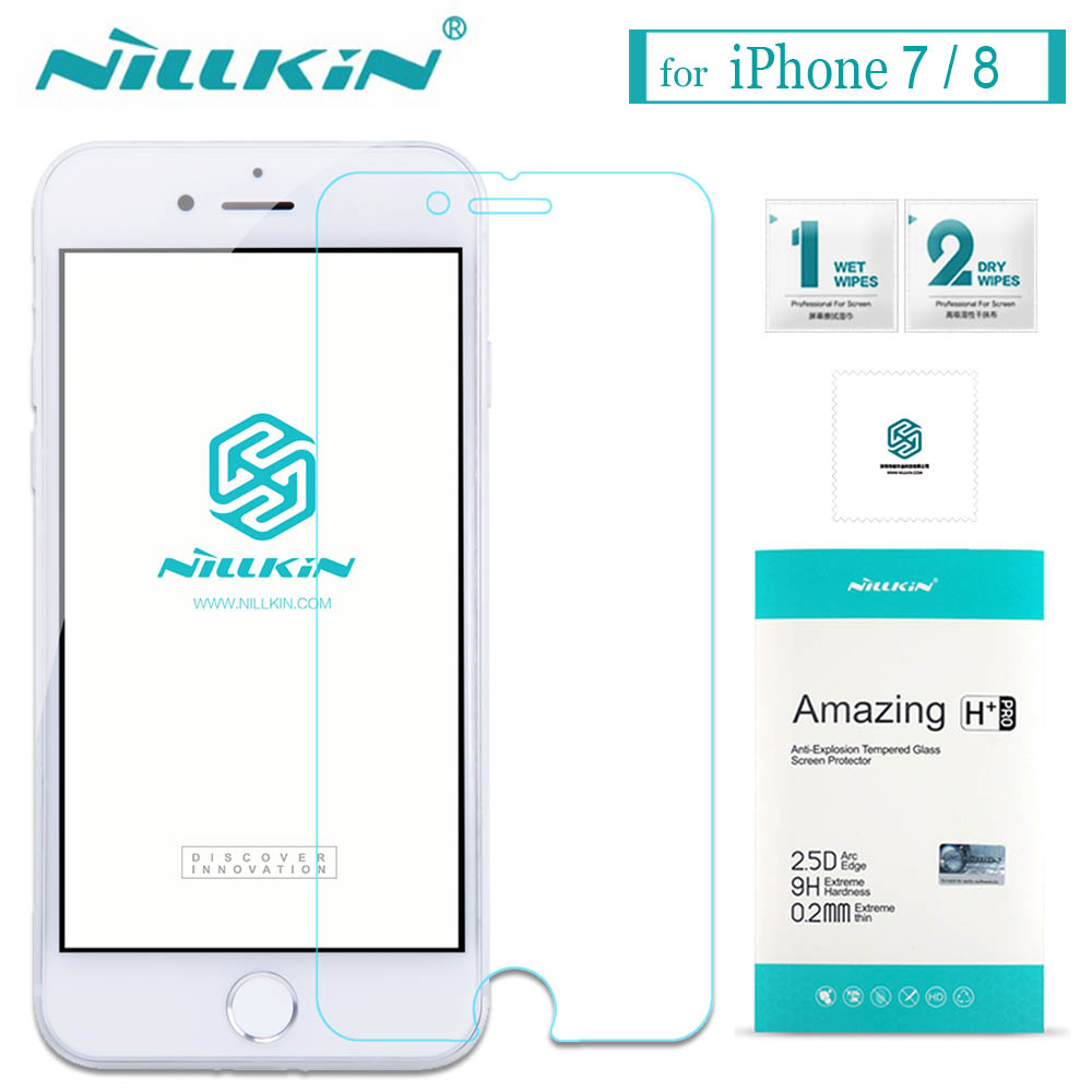 Nilkin for iPhone 7 8 Plus Tempered Glass Screen Protector Nillkin 9H Amazing H / H+Pro Glass Film for Apple iPhone 7 8 Plus