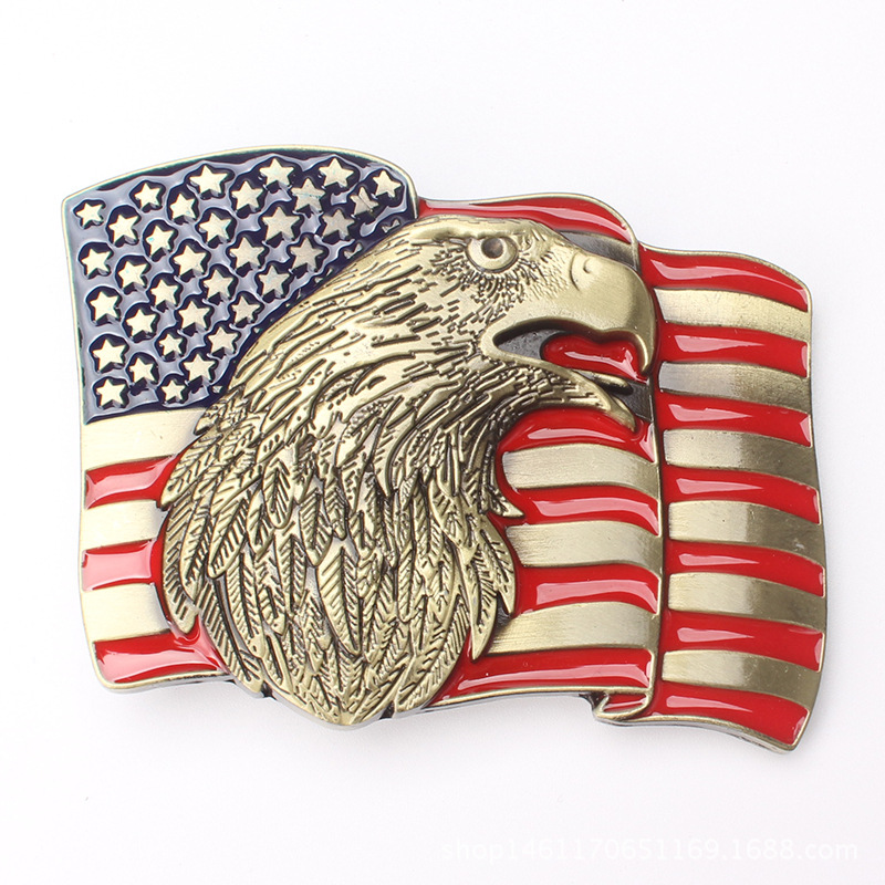 American Flag American Eagle Belt Buckle  Belt Accessories