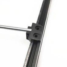 4 шт. Funssor Prusa i3 MK3 медведь обновленый алюминиевый сплав оси Y Гладкий стержень держатель комплект для DIY Prusa медведь 3D-принтеры