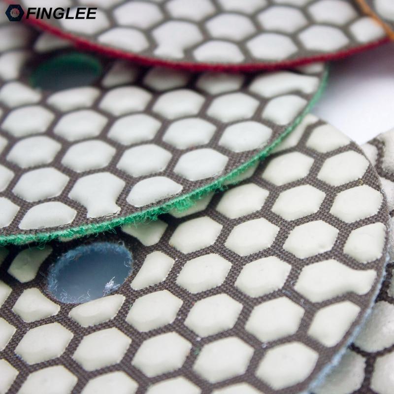 FINGLEE 6tk / komplekt, 3 tolli, 4 tolli 5 sammu kuivaga Teemant - Elektrilised tööriistad - Foto 4