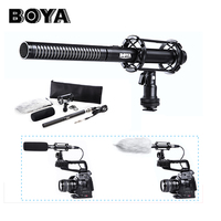 BOYA BY PVM1000 BY PVM1000 Condenser Video/interview Microphone for Canon Nikon Sony DSLR Camera with Free Windshield