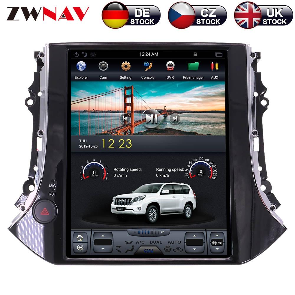 ZWNVA Tesla IPS écran Android 7.1 voiture sans lecteur DVD Radio GPS Navigation pour VW Tiguan pour Volkswagen 2010-2016 multimédia