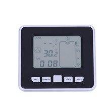 الرطوبة اللاسلكية بالموجات فوق الصوتية خزان السائل عمق مستوى متر مع درجة الحرارة الحرارية استشعار جهاز قياس مستوى المياه
