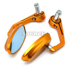 7/8″ 22mm Universal Motorcycle  Rear View Side Mirror Handle Bar End for YAMAHA  XJR1300  FJR 1300 XJR 1300/Racer XJR1300