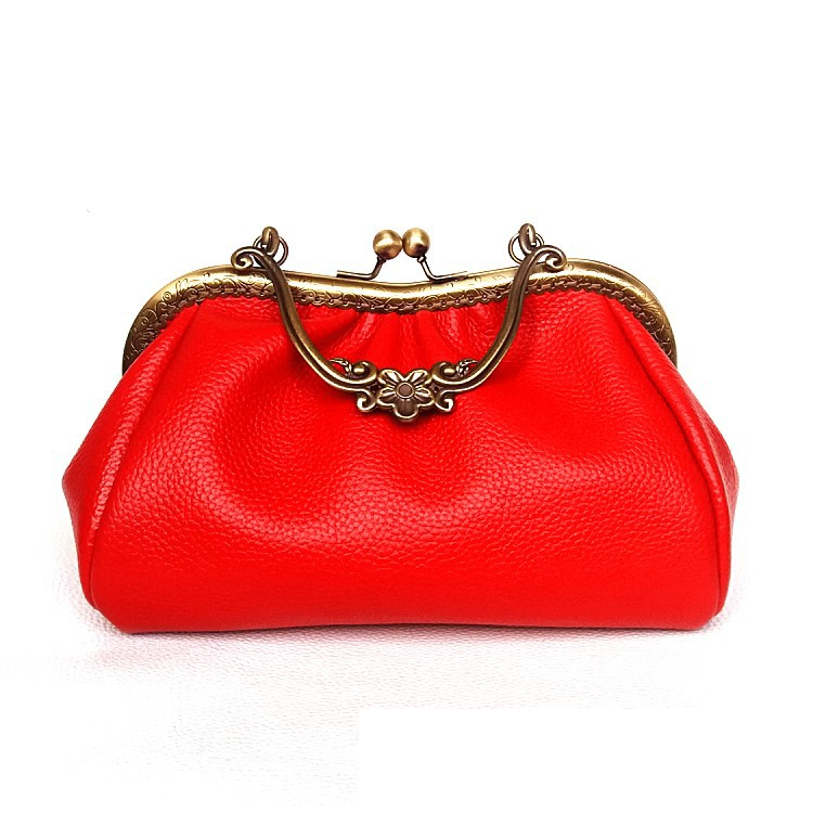 Vintage Leather Women Purse Party Vanity Handbag Classical Handbag Women Fashion Luxury Handbag Handmade Leather Purse декор lord vanity quinta mirabilia grigio 20x56