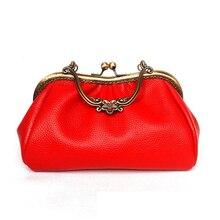 Vintage Leather Women Purse Party Vanity Handbag Classical Handbag Women Fashion Luxury Handbag Handmade Leather Purse