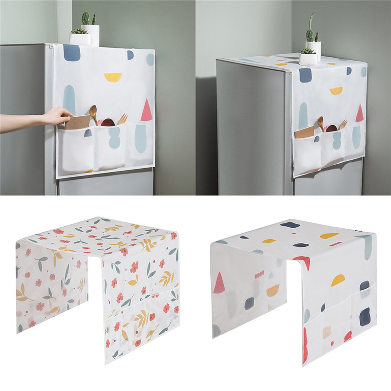 Household Refrigerator Dust Cover Muti-Functional Fridge Proof Pouch Organizer Storage Bags Kitchen Accessories Supplies