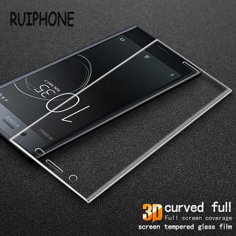 3D Curved Full Cover Tempered Glass for Sony <font><b>Xperia</b></font> XZ Premium 9H Clear Screen Protector for Sony XZ Premium Protective Film New
