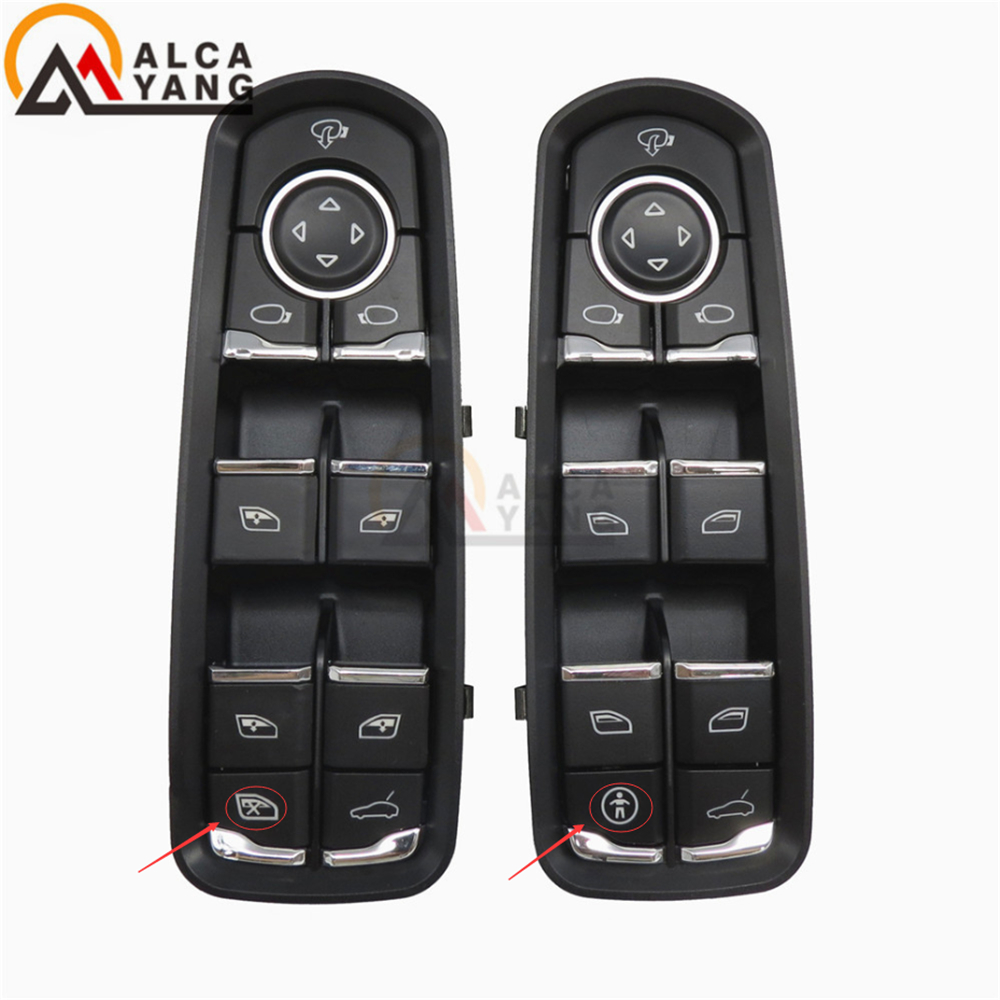 цена на Malcayang Front Door Window Switch For Porsche For Panamera For Cayenne Macan 7PP959858RDML 7PP959858MDML