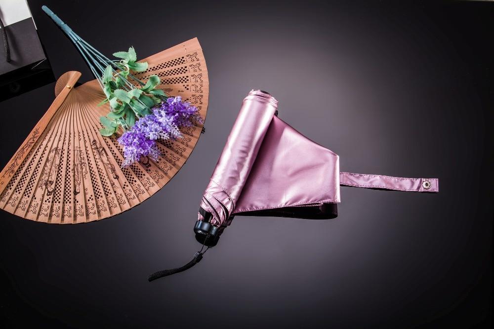 női esernyő esernyő összecsukható fekete vízálló TTK márka - Háztartási árucikkek - Fénykép 4