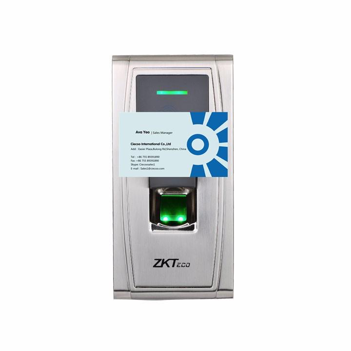 waterproof RFID card fingerprint reader