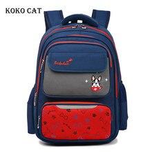 Girls Boys Primary School Backpack Kids School Bags Orthopedic Bookbag Multi Compartment Satchel Knapsack Mochila Infantil цена и фото