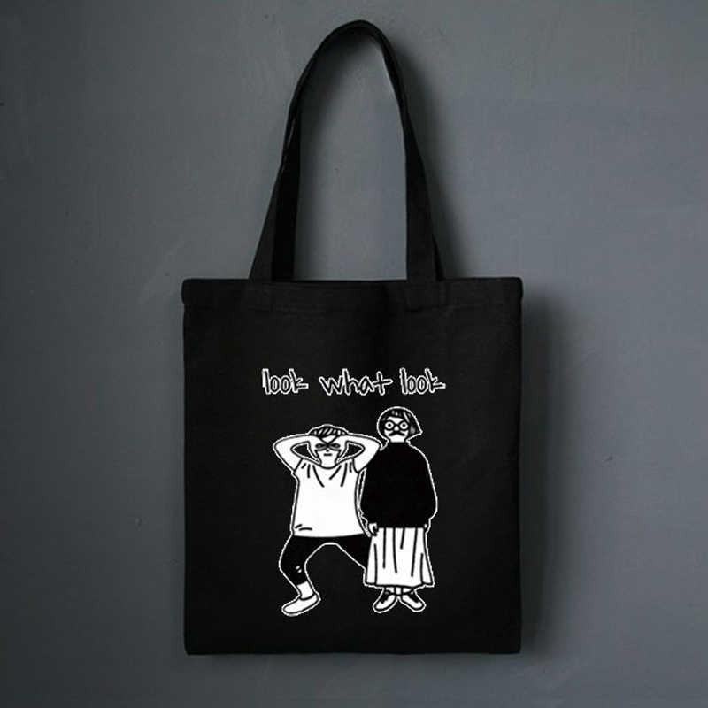 Bolso de mano para mujer, bolso de mano de tela, bolso de compras de algodón, bolso de viaje, bolso ecológico reutilizable, bolso de compras blanco, bolsos de tela