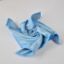 Microfiber Window Glass Wipe In Super Quality Glass Cloth Fast Drying Durable Window Cloth 12pcs